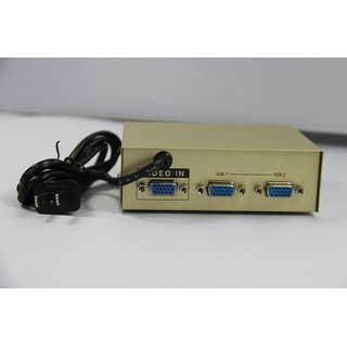 2 PORT VGA SPLITTER