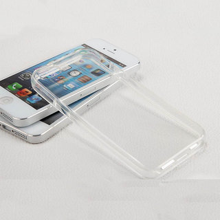 Transparent Thin Plastic Protective Back Cover Case For Apple IPhone 5/ 5S/ 5G
