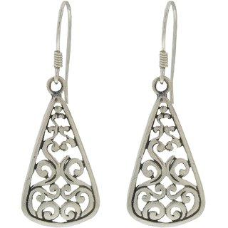 AMOI Sterling silver 92.5 Earrings for Women