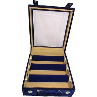 Lnc 3btp Mekup Box Vanity Makeup(Blue)