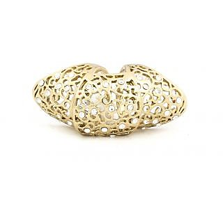 Acsentials Abstract Ethereal Gold Finger Ring