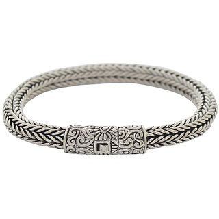 AMOI Sterling silver 92.5 Bracelet for Man