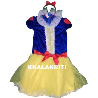 Snow White Costume Fancy Dress Snowwhite For Kids
