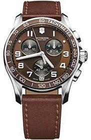 Victorinox Analog Brown Round Watch -241498