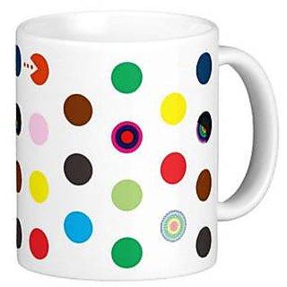 Giftcart - Ms. Pac-Man  Polka Dots Mug