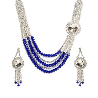 Crystal And Pearl Set By The Pari