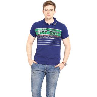 Duke Duke Stardust Marine Cotton Blend T-Shirt For Men