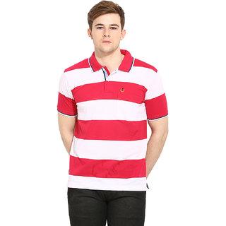 Duke Duke Stardust Fuchsia Cotton Blend T-Shirt For Men