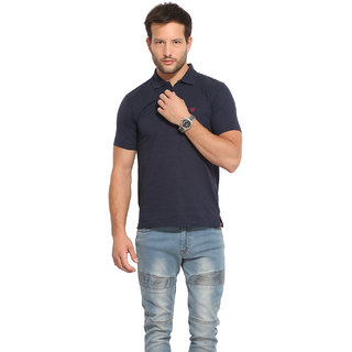 Duke Duke Stardust Navy Mix T-Shirt For Men