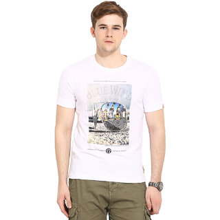 Duke Duke Stardust White T-Shirt For Men