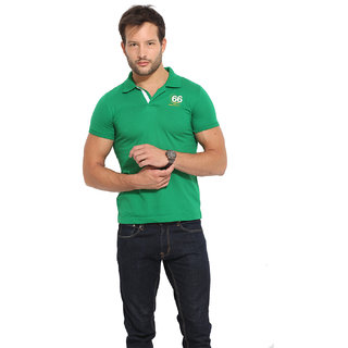 Duke Duke Stardust Bright Green T-Shirt For Men