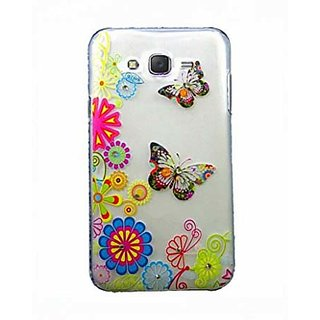 KMS Hard Back Designer Cover with rhinestone Diamond 3D Relief art luxury case for Samsung Galaxy ON5