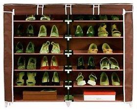 HomeBasics Dustproof  Dampproof Shoe Rack Multicolor