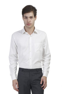 KINGSWOOD Mens Cream PC Formal Shirt