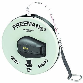 Freemans 15 Meter Measuring Tape Colour May Very