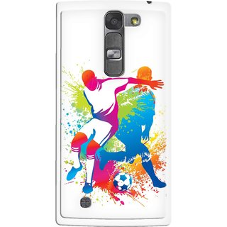 Snooky Designer Print Hard Back Case Cover LG Magna