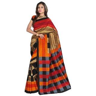 Mfg Pure Handlooms Silk Paithani Sarees  Womens Bhagalpuri Silk Saree