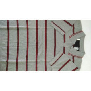 Flat knit T -shirt