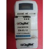 Nikon Mh 65 Battery Charger For Nikon En El12 Mh65 Digital Cameradigitek