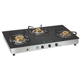 Faber Crystal 30 CT AI 3 Burner Glass Cooktop