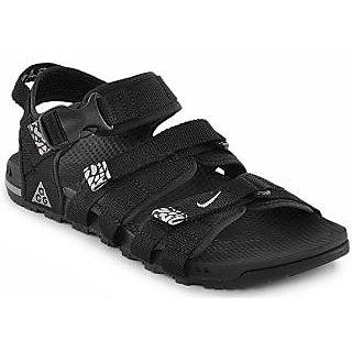 59058be1f2fb Nike Men Black Air Deschutz Sandals