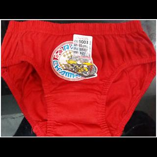 Red Kids Underwear