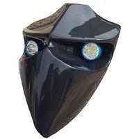 Devil Type Headlamp Metallic Black