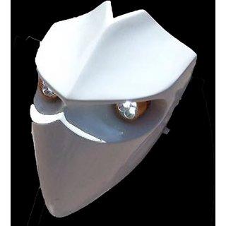 Devil Type Headlamp Pearl White