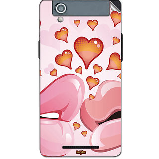 instyler Mobile Skin Sticker For Xolo A500S