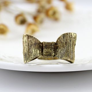 Fayon Bow Rings Golden