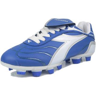 DIADORA TERMINATOR FOOTBALL STUD DDS 00202  BLUE WHITE SILVER