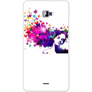 Snooky Designer Print Hard Back Case Cover For Micromax Canvas Nitro A310
