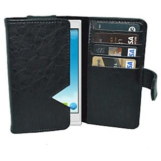 Totta Wallet Case Cover for Alcatel One Touch Hero 2 Plus         (White)