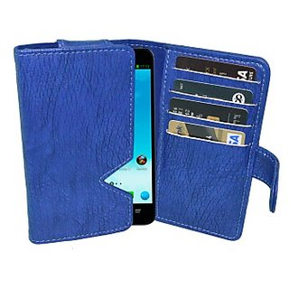 Totta Wallet Case Cover for Coolpad Rogue         (Blue)