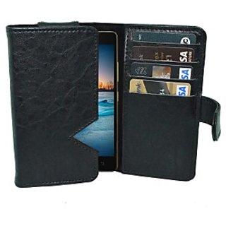 Totta Wallet Case Cover for Lenovo S660         (Blue)