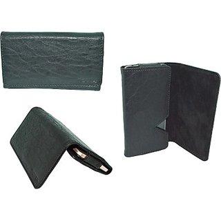 Totta Wallet Case Cover for Karbonn Alfa A91         (Blue)