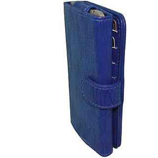 Totta Wallet Case Cover for Lava Iris Pro 30         (Black)