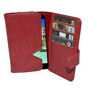 Totta Wallet Case Cover for Intex Aqua Star II HD         (Black)