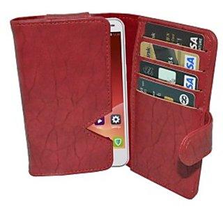 Totta Wallet Case Cover for ZTE V3         (Black)