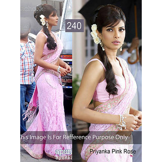 576f3ca36fe8a Priyanka Chopra Retro Style Saree at Best Prices - Shopclues Online ...