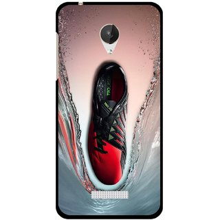 Snooky Designer Print Hard Back Case Cover For Micromax Canvas Spark Q380