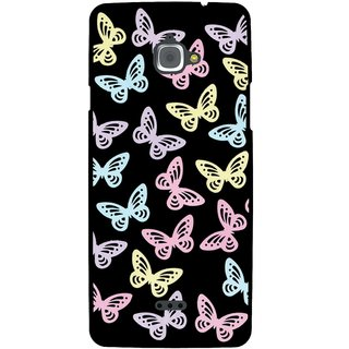 Snooky Designer Print Hard Back Case Cover For InFocus M350