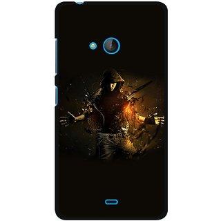 Snooky Designer Print Hard Back Case Cover For Microsoft Lumia 540