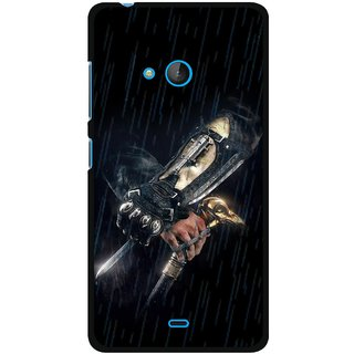 Snooky Designer Print Hard Back Case Cover For Microsoft Lumia 540
