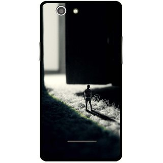 Snooky Designer Print Hard Back Case Cover For Xolo A500s
