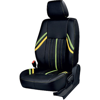 Maruti S-Cross black Leatherite Car Seat Cover