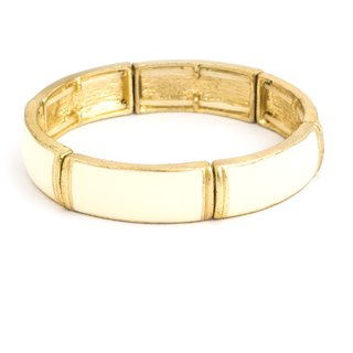 Acsentials Marble Stone  Gold Bracelet