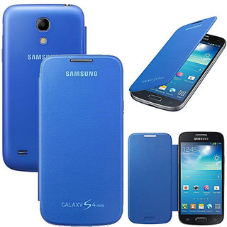 huge sale c95bd cba2a Hi Grade Blue Flip Cover for Samsung Galaxy S4 Mini I9190I9192
