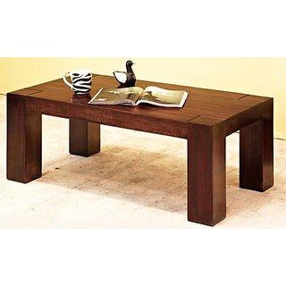 Altavista Modern Coffee Table (Teak Finish)