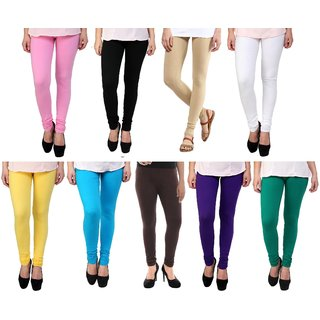 Stylobby Womens Leggings Pack Of 9